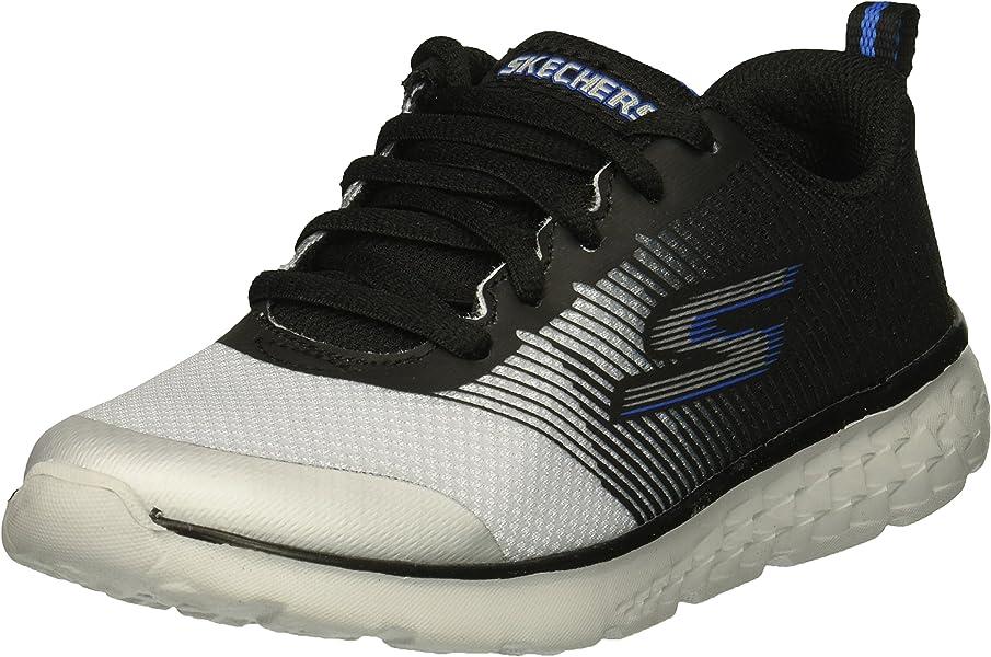 776af8aeac00 Skechers Kids Boys  GO Run 400-FAST PACE Sneaker Black Grey 1 Medium
