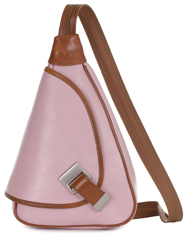 aa9cc37603ed LIATALIA Small Backpack Rucksack Duffle bag in Genuine Italian ...