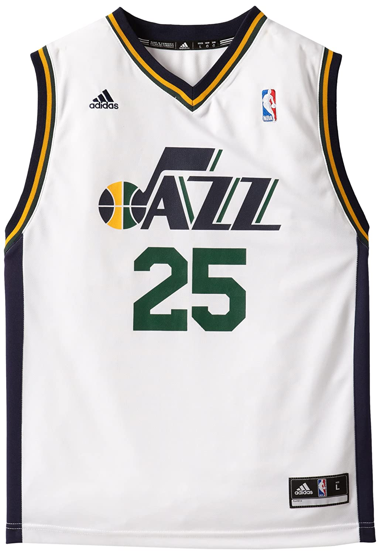 Amazon.com   NBA Utah Jazz Al Jefferson Youth 8-20 Replica Home Jersey 4ca8e6f54