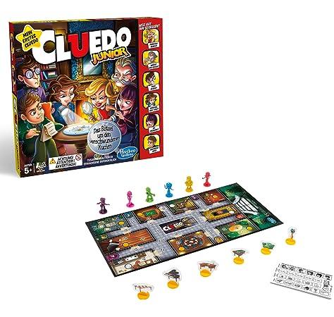 Hasbro Cluedo Junior: Amazon.es: Juguetes y juegos