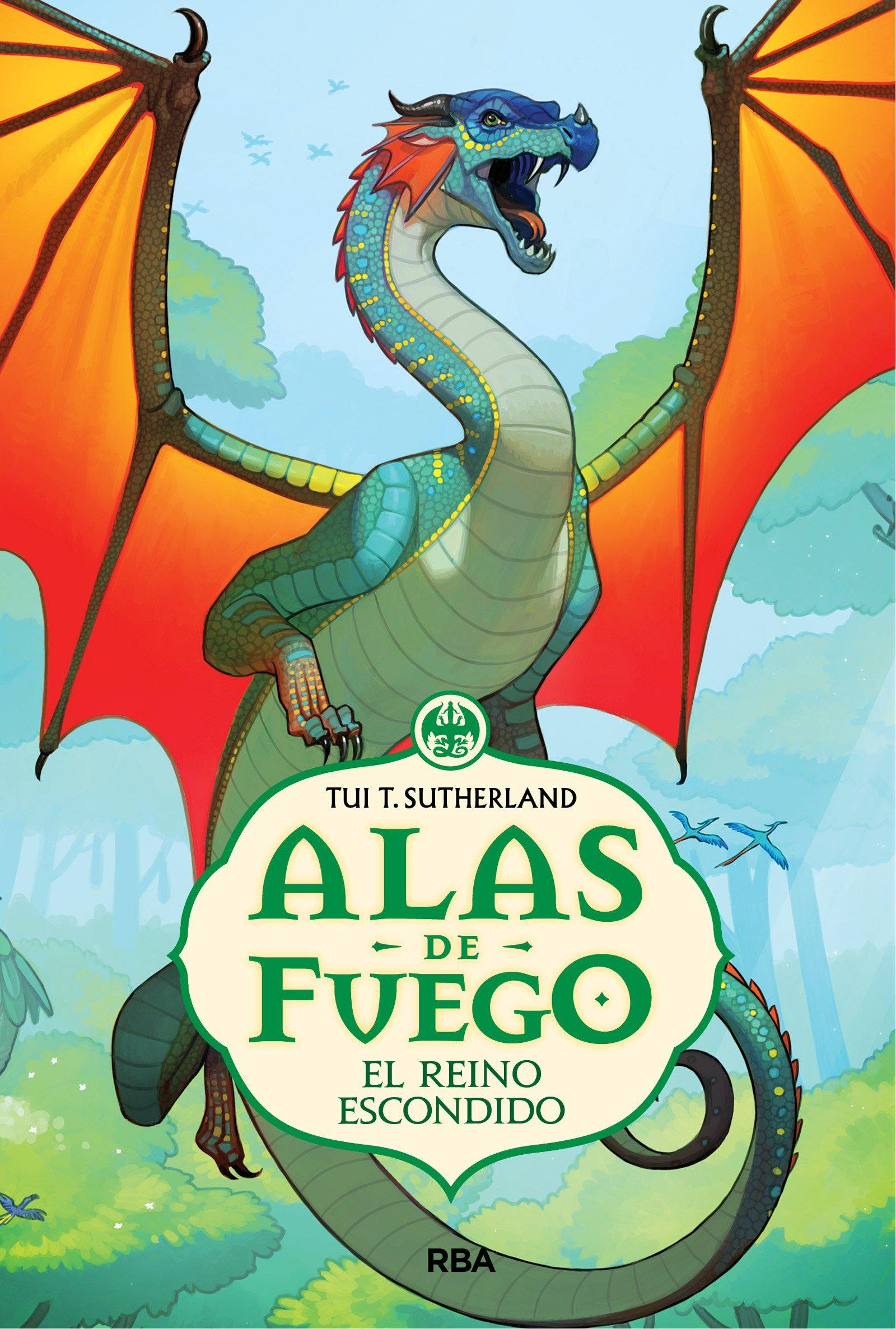 Alas de Fuego # 3 El reino escondido (Spanish Edition) (Alas De Fuego / Wings of Fire) by Lectorum Pubns (Juv) (Image #1)