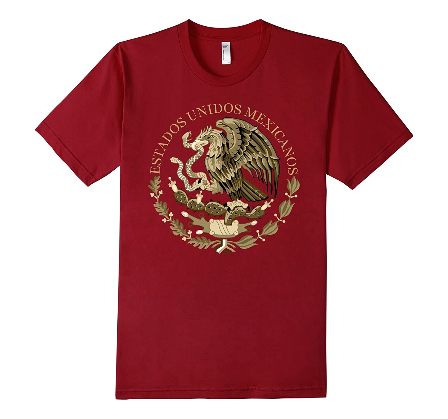 Mexican Coat of Arms from national flag T-Shirt-TH
