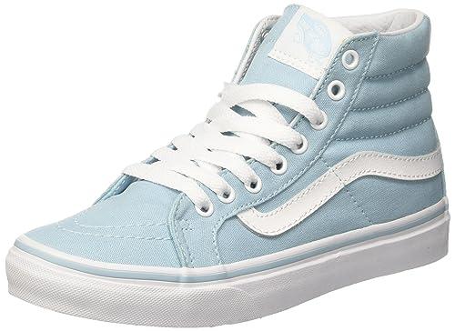 c1177ae22f2 Vans Women s Ua Sk8-hi Slim Hi-Top Sneakers  Amazon.co.uk  Shoes   Bags