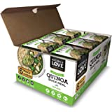 Kitchen & Love Basil Pesto Quinoa Quick Meal 6-Pack | Gluten-Free, Ready-to-Eat, No Refrigeration Required