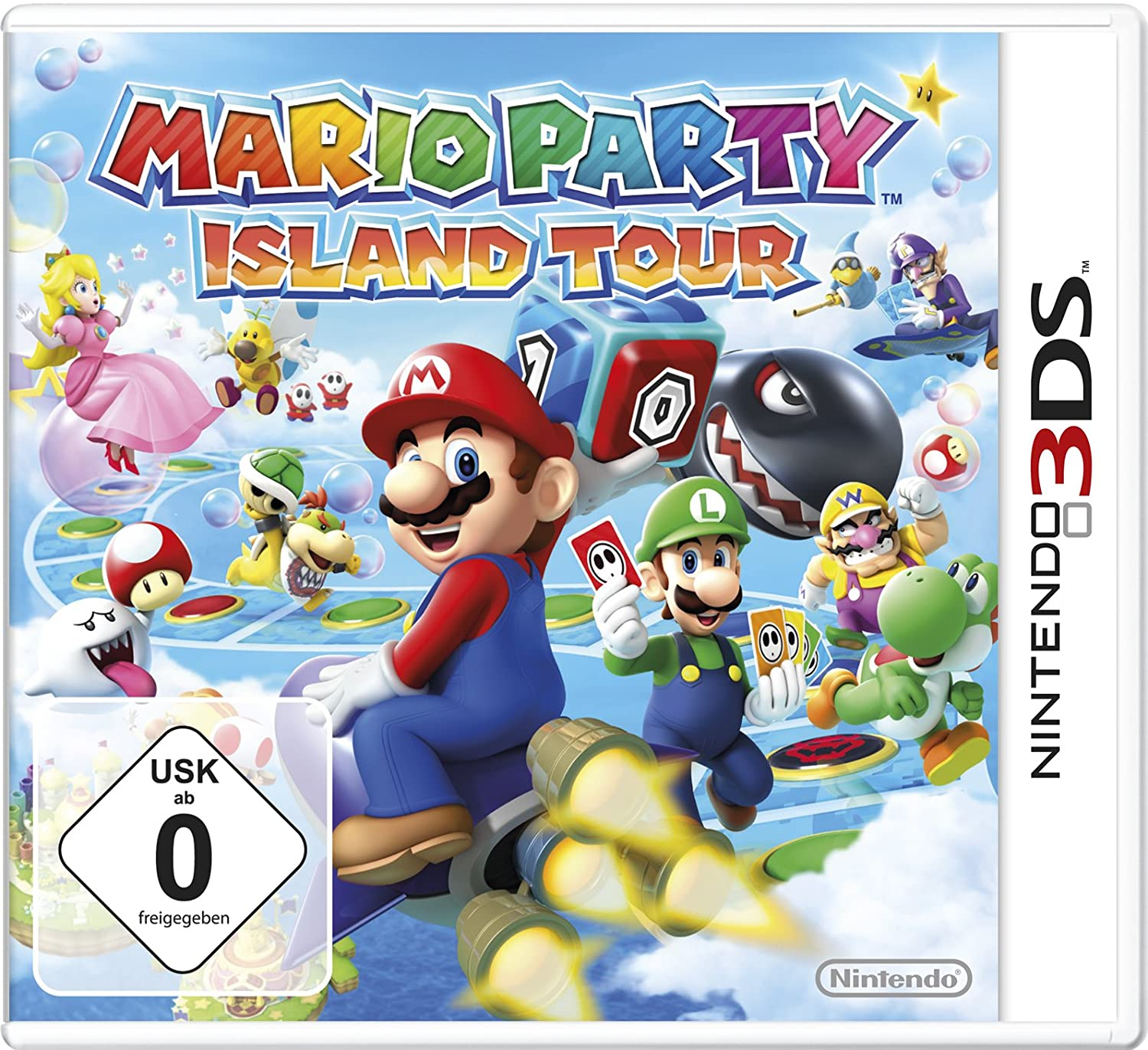 Mario Party - Island Tour (3DS)