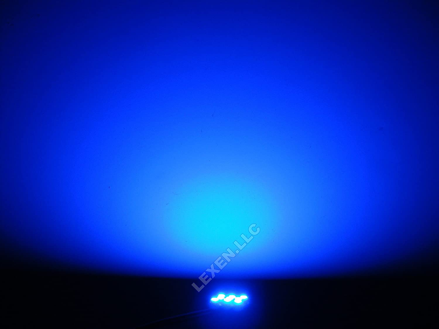 Amazon.com: LED Blue 2X Dome Map Interior Light Bulb 9 SMD Circle Panel  Xenon Hid Lamp   Fits All Vehicles: Automotive