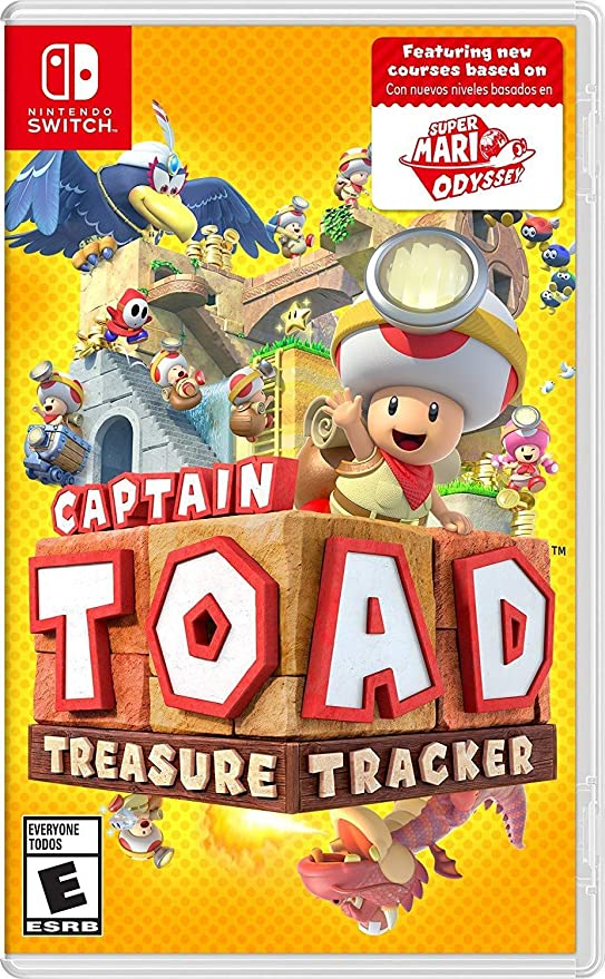 Nintendo Captain Toad: Treasure Tracker, NSW vídeo - Juego (NSW, Nintendo Switch, Puzzle / Strategy, Modo multijugador, E (para todos)): Amazon.es: Videojuegos