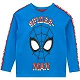 Marvel Boys Spiderman Long Sleeve Top