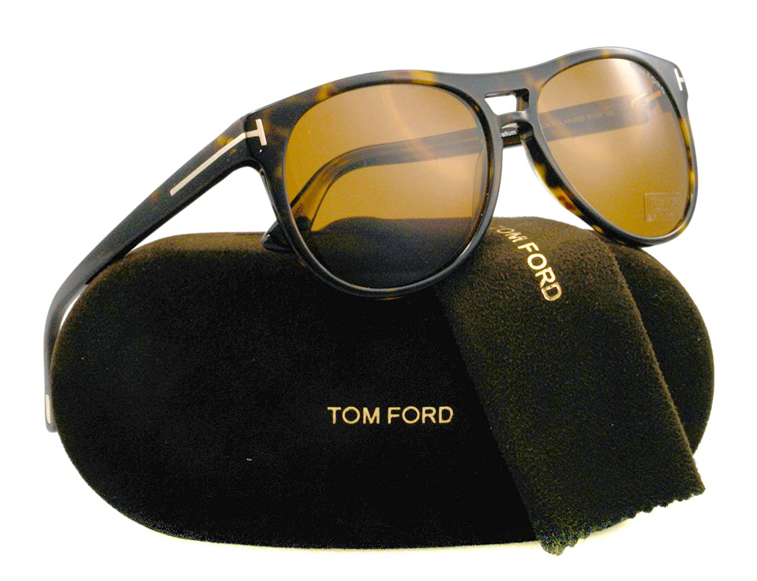 0f8fd2b377 Amazon.com  Tom Ford Sunglasses - Callum   Frame  Dark Havana Lens  Brown  Polarized  Tom Ford  Shoes