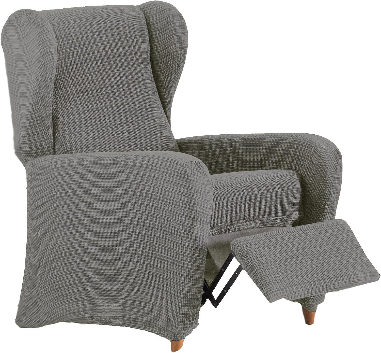 Eysa Aquiles Funda de sofá, Poliéster/algodón, Gris, 75