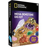 NATIONAL GEOGRAPHIC Mega Gemstone Mine – Dig Up 15 Real Gems