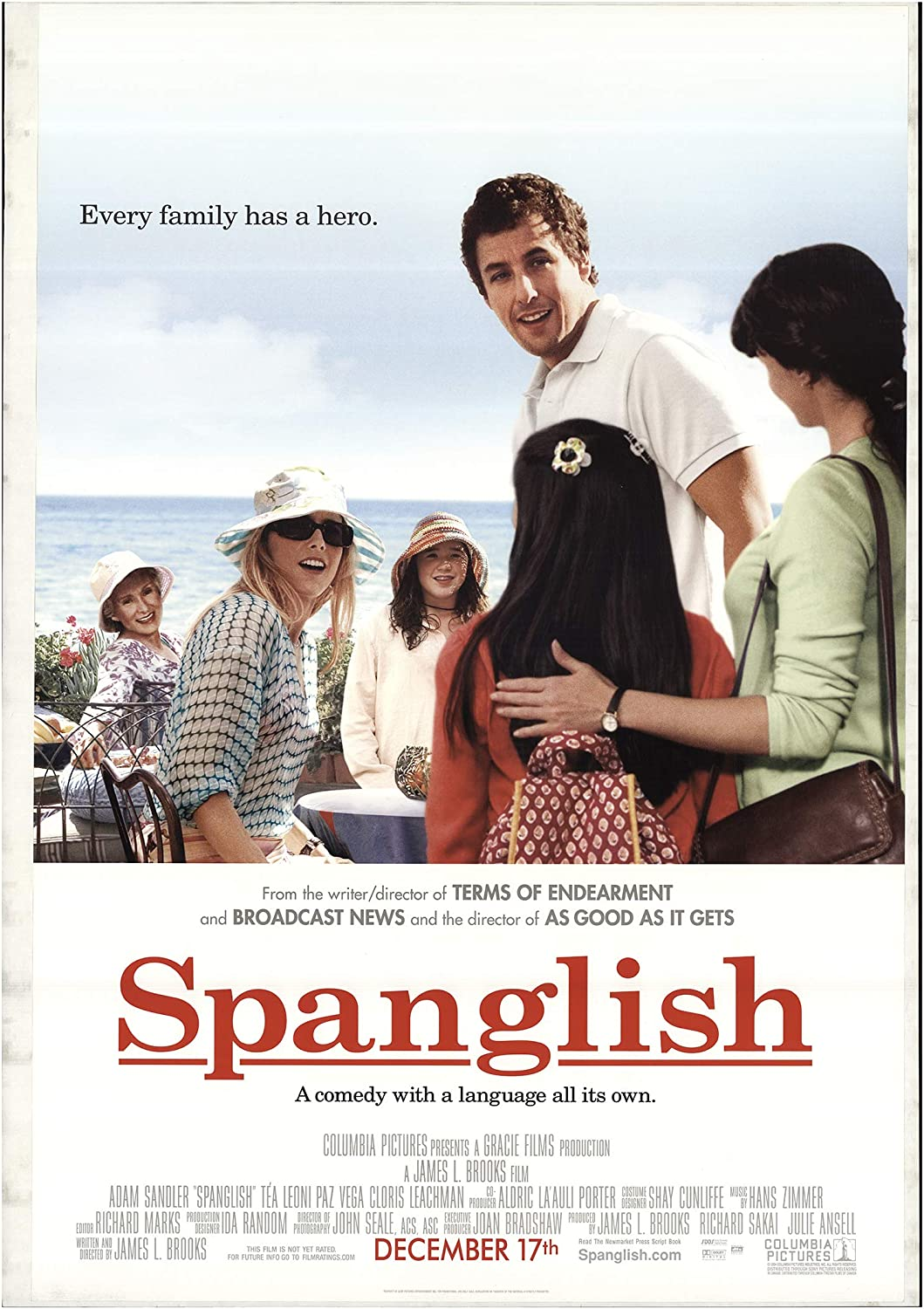 """Spanglish 2004 Authentic 27"""" x 40"""" Original Movie Poster Rolled ..."""