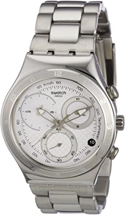 Swatch Oblique Chrono Quartz Stainless Steel YCS550G