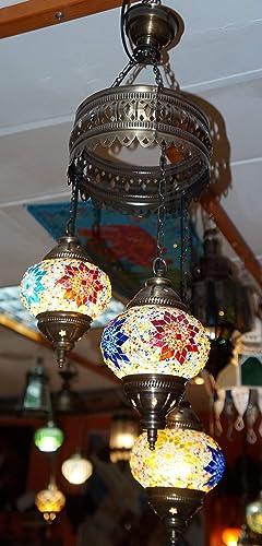 lampara turcas 3 bolas: Amazon.es: Iluminación