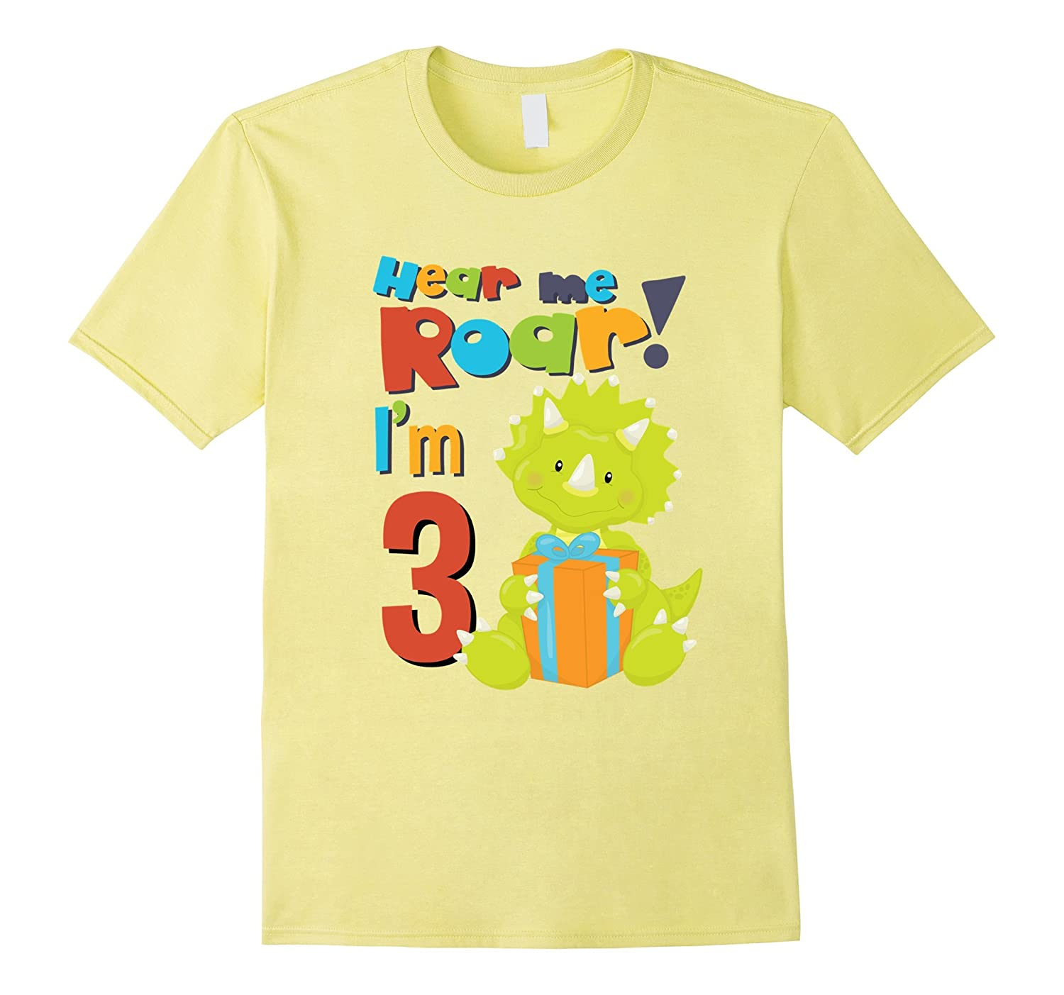 Birthday T Shirt For 3 Year Old Boy