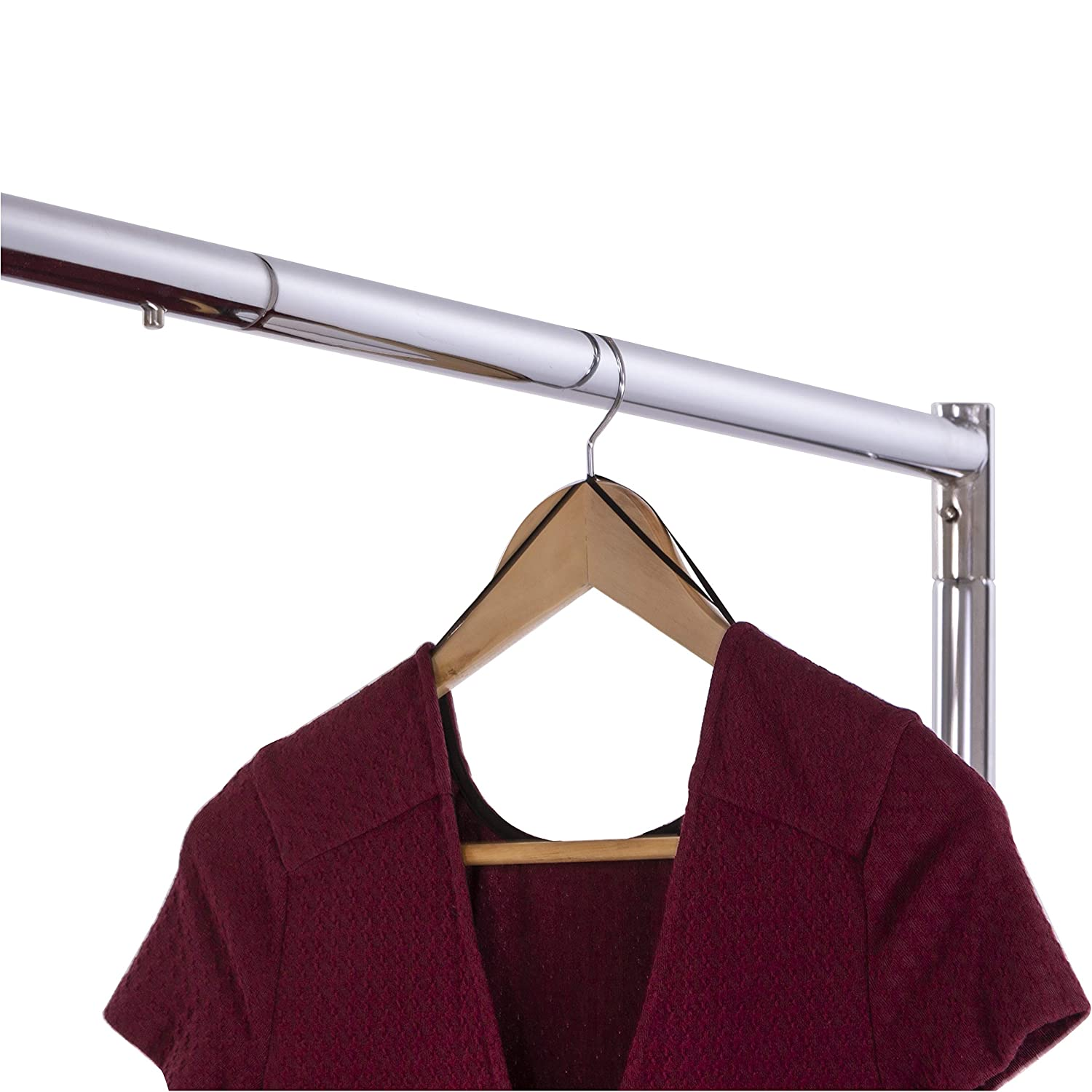 Amazon.com: Commercial Garment Rack Z Rack - Rolling Clothes ...