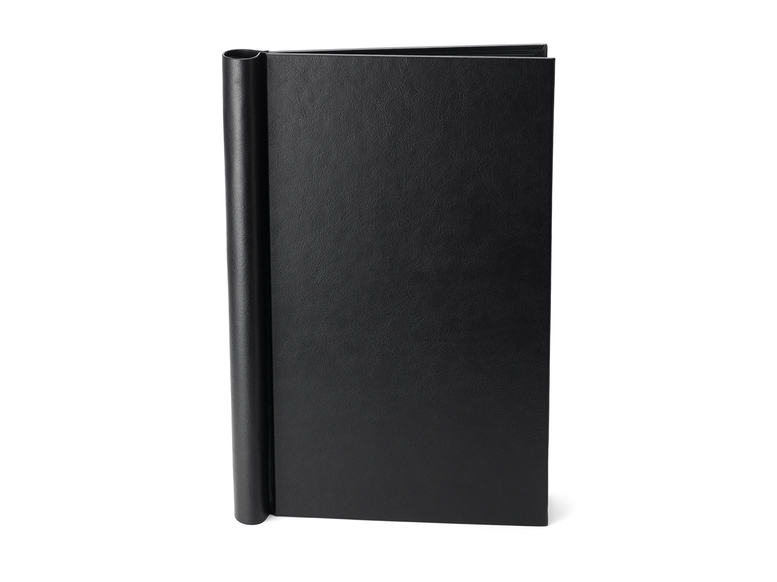 Springback Binder - US Legal Size - Black Soft Leather Effect (US Legal) by Springback Binders