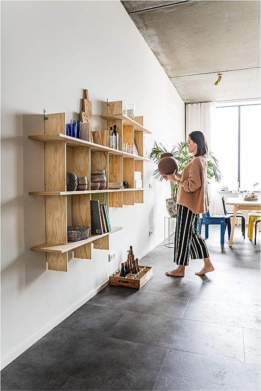IKEA. Estantería de madera: Amazon.es: Hogar