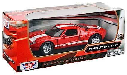 Motormax Bl Ford Gt Blue  Cast Car Model