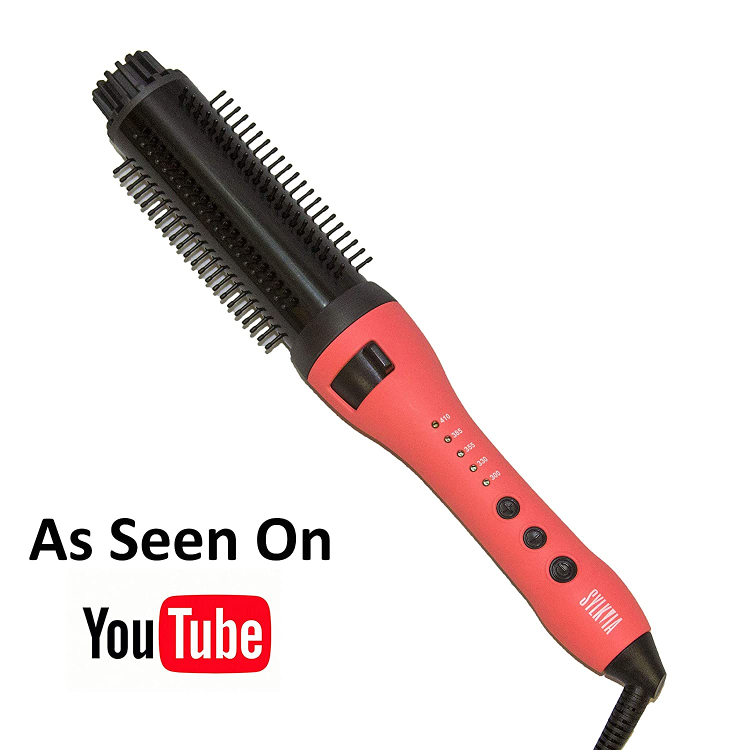 Sylkvia Tangle-Free Curling Iron Brush and Volumizer