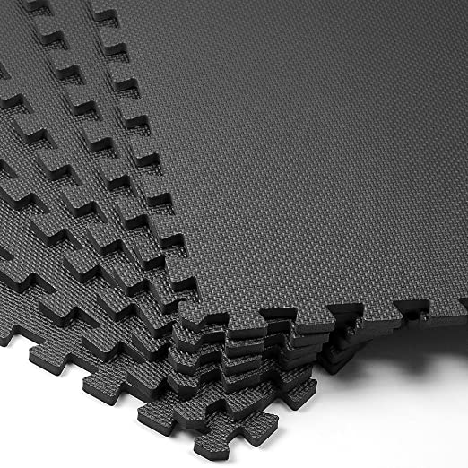 Bekannte Schutzmatte 6er Set - Matte Fitnessmatte Unterlegmatte Puzzlematte FB59