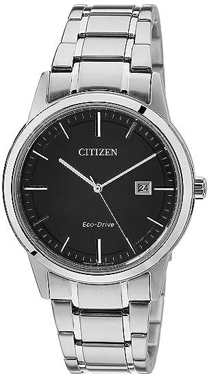 Citizen - Reloj de Pulsera para Hombre XL analógico de Cuarzo Acero Inoxidable aw1231 - 58E: Amazon.es: Relojes