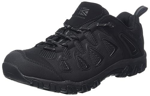 Karrimor Bodmin Low Sport Weathertite, Zapatillas de Senderismo para Hombre, Negro (Black), 47 EU