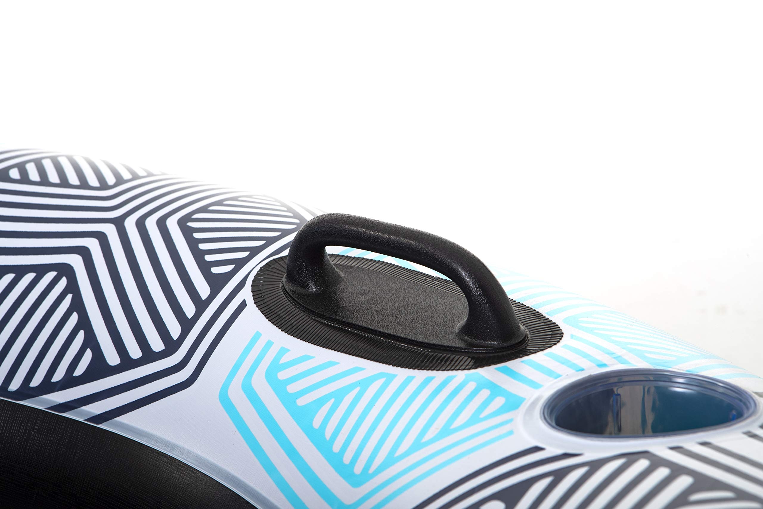 Bestway CoolerZ Rapid Rider Inflatable Blow Up Pool Chair Tube (12 Pack) by Bestway (Image #4)