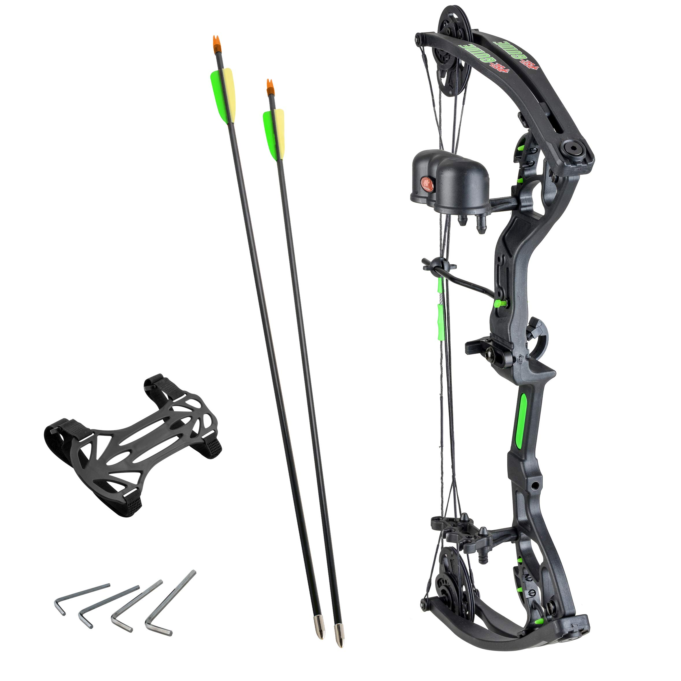 PSE Guide Junior Archery Youth 29 Pound Right Hand Compound Bow Package