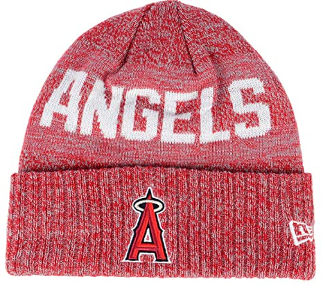 New Era Los Angeles Angels Crisp Colored Knit Cuffed Hat Logo Sport Knit Hat a6b5c507e8