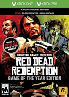 Amazon com: Red Dead Redemption: Game of the Year Edition