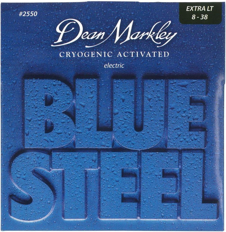 Dean Markley 2550 - Juego de cuerdas para guitarra eléctrica de acero.008-.038