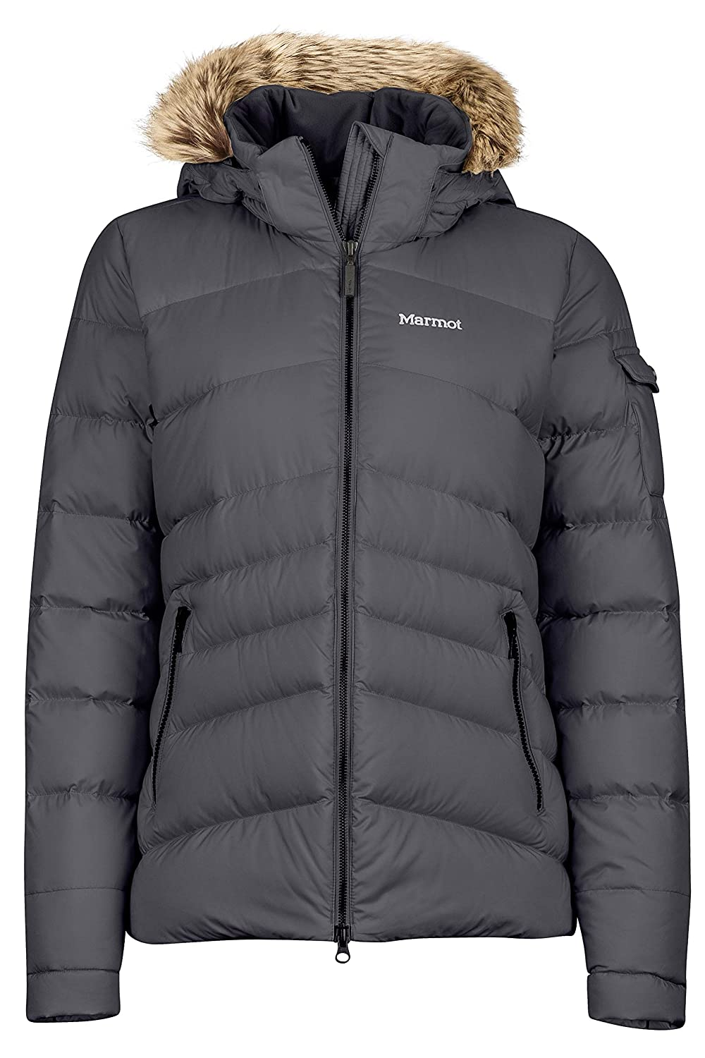 Dark Steel Marmot Ithaca Women's Down Puffer Jacket