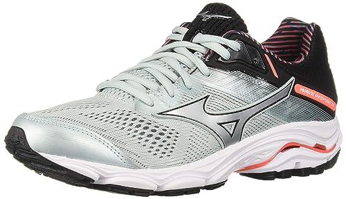 ee3171543f462 Mizuno Women's Wave Inspire 15 Athletic Shoe, Sky Grey/Silver ...