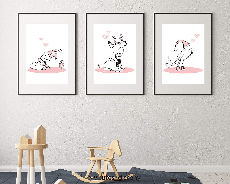 Set de 6 láminas infantiles // Decoración infantil con láminas // Precio por las 6 láminas // Sugerencia cómo regalo // Envíos seguros