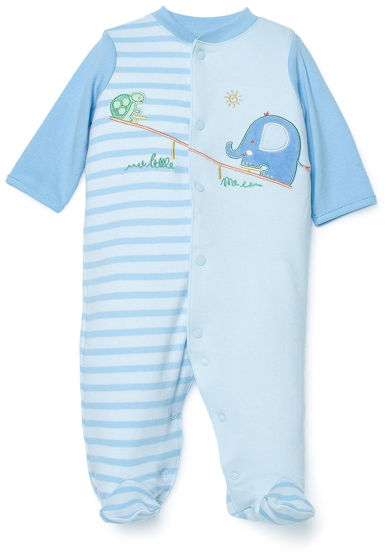 infant layette micro fleece baby blue turtle fur cap