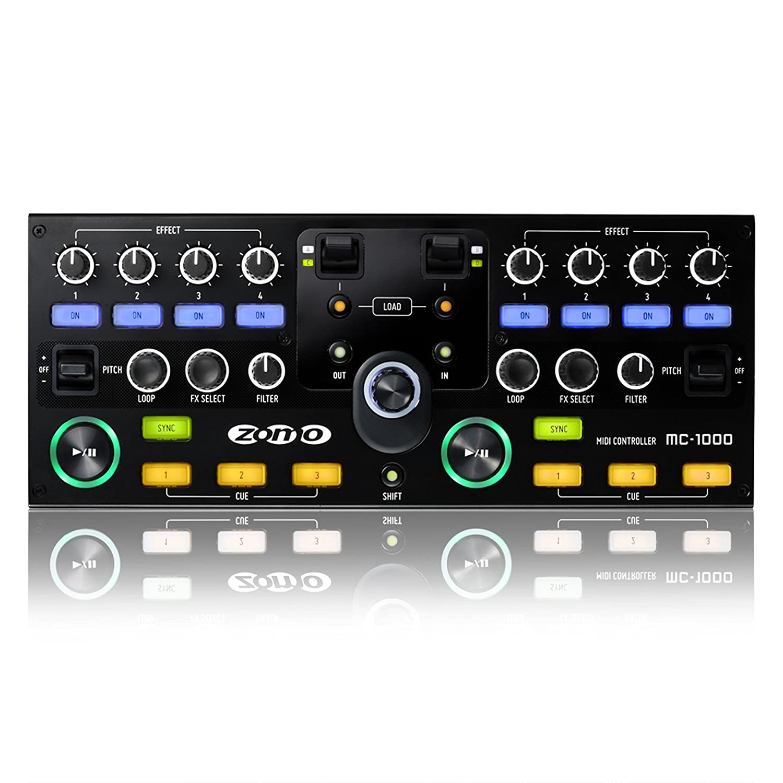 Amazon.com: Zomo MC-1000 DJ MIDI Controller for Virtual DJ ...