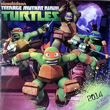 Teenage Mutant Ninja Turles - 2014 Calendar