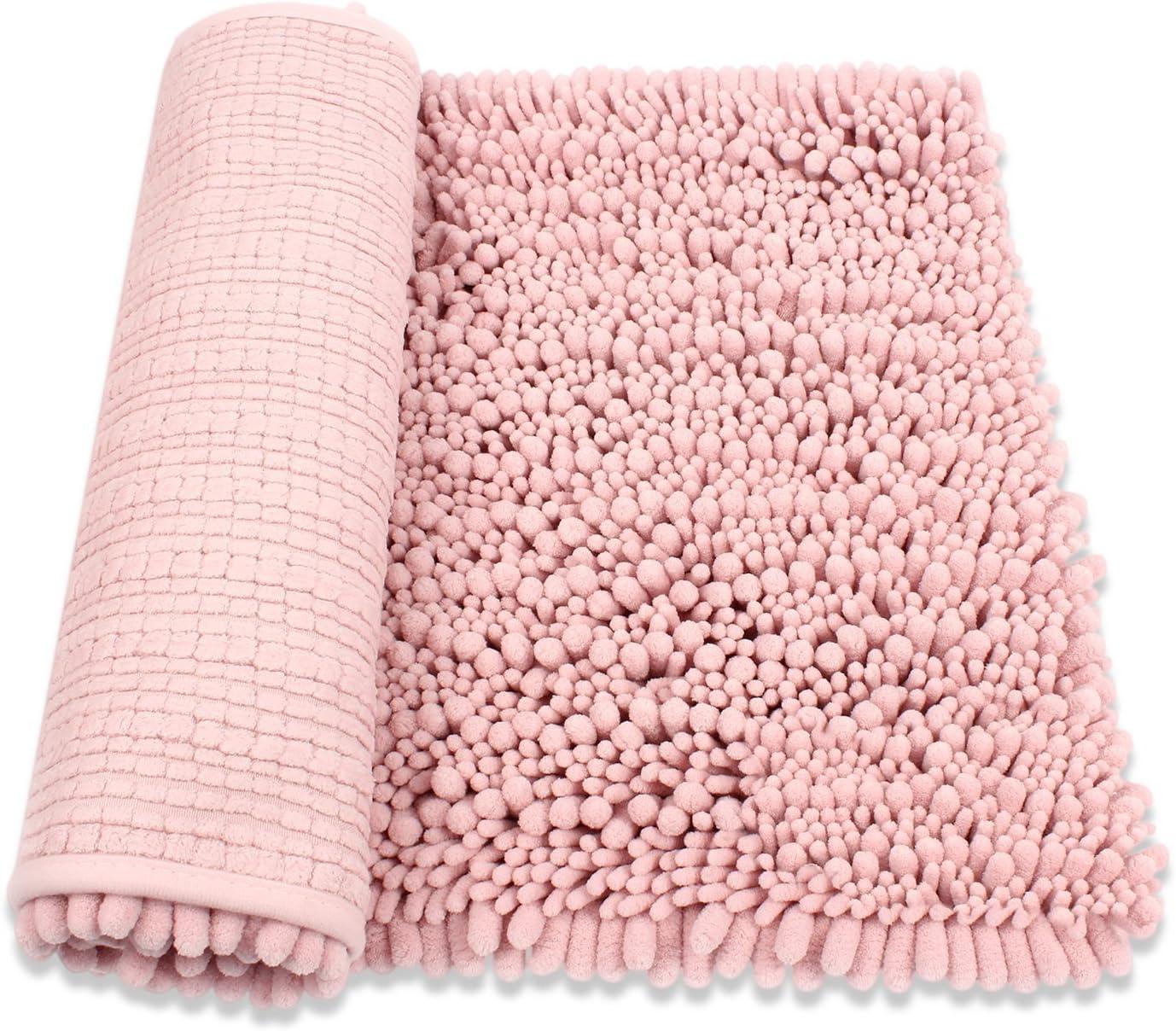 Absorbent Soft Wool Carpet Bath Bathroom Bedroom Floor Shower Mat Rug Non-slip