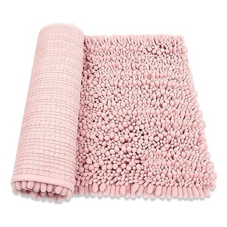 e17c080612 HomDSim 30 quot  x 20 quot  Shaggy Bathroom Bath Shower Rugs Mat Carpet  Floor Non-