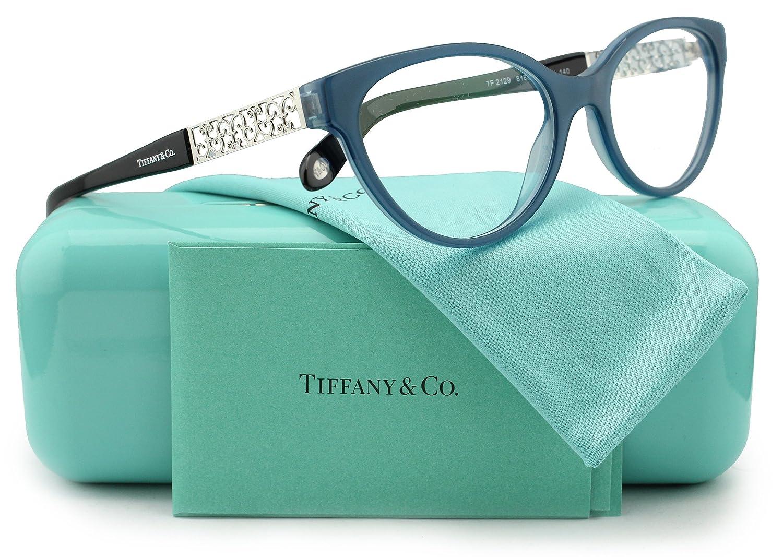Tiffany & Co. TF2129 8189 - Gafas de sol (51 mm), color azul ...