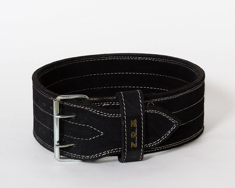 Power Lifting Belt Double Prong Power Belt Weight Lifting Guaranteed Black
