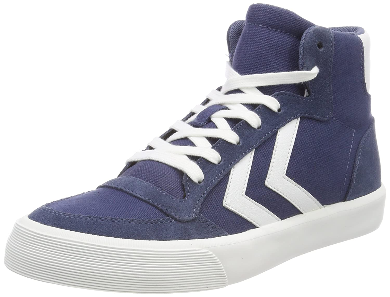 Hummel Unisex-Erwachsene Stadil RMX High Hohe Sneaker Blau (Vintage Indigo)
