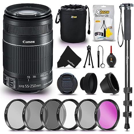 Kit de accesorios para cámara réflex digital Canon EF-S® de 55 ...