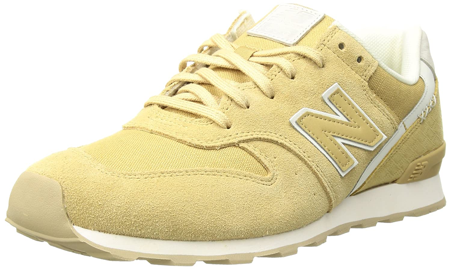 New Balance Women's 696 v1 Sneaker B0751GMFXH 7.5 B(M) US|Toasted Coconut/Sea Salt