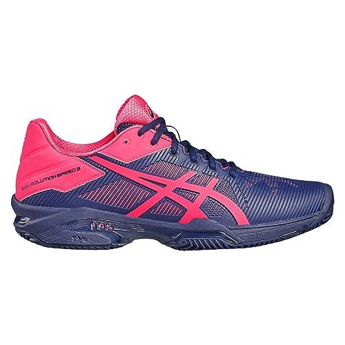 GEL SOLUTION SPEED 3 Chaussures de tennis sur terre battue whitesilver