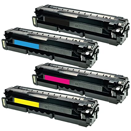 4 x TI de SA Pro tóner reciclado (cltp 404 C) para Samsung Xpress ...