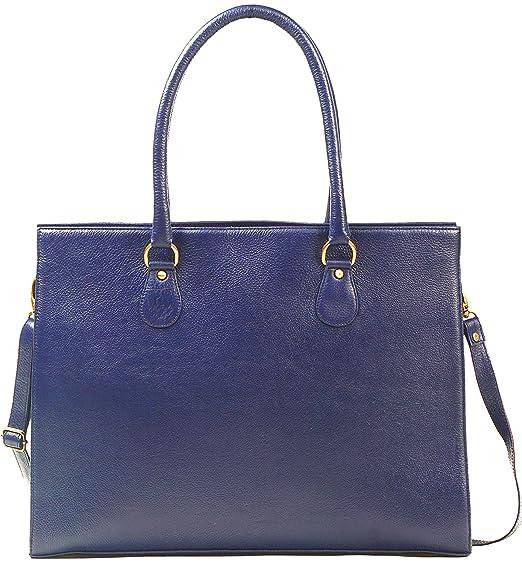 5c9c30cfee ZipperNext Genuine Leather Shoulder Bag Laptop Tote Bag Messenger Bag for  Women