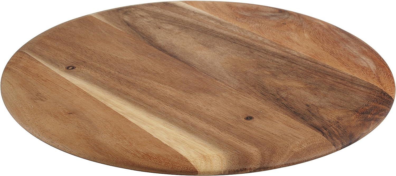 T/&G Woodware Barroco Pizza con cord/ón de Piel Acasia