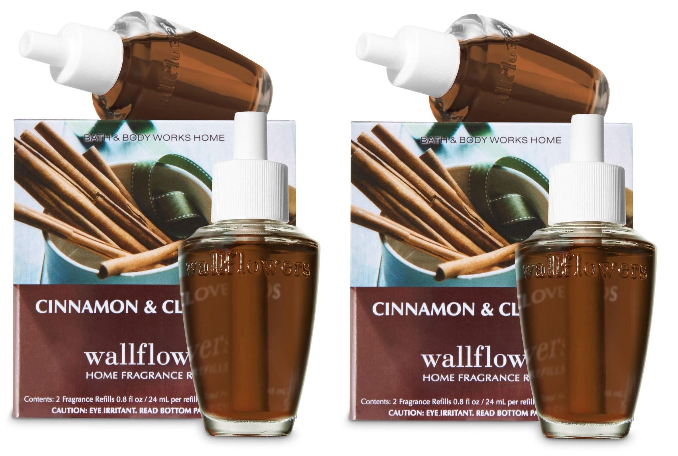 Bath & Body Works Wallflower Bulb Refills - Cinnamon & Clove Buds - FOUR bulbs! by Bath & Body Works (Image #1)
